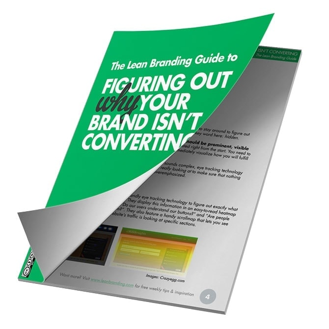 My new (+ free) eBook: Figure out why your brand isn't converting