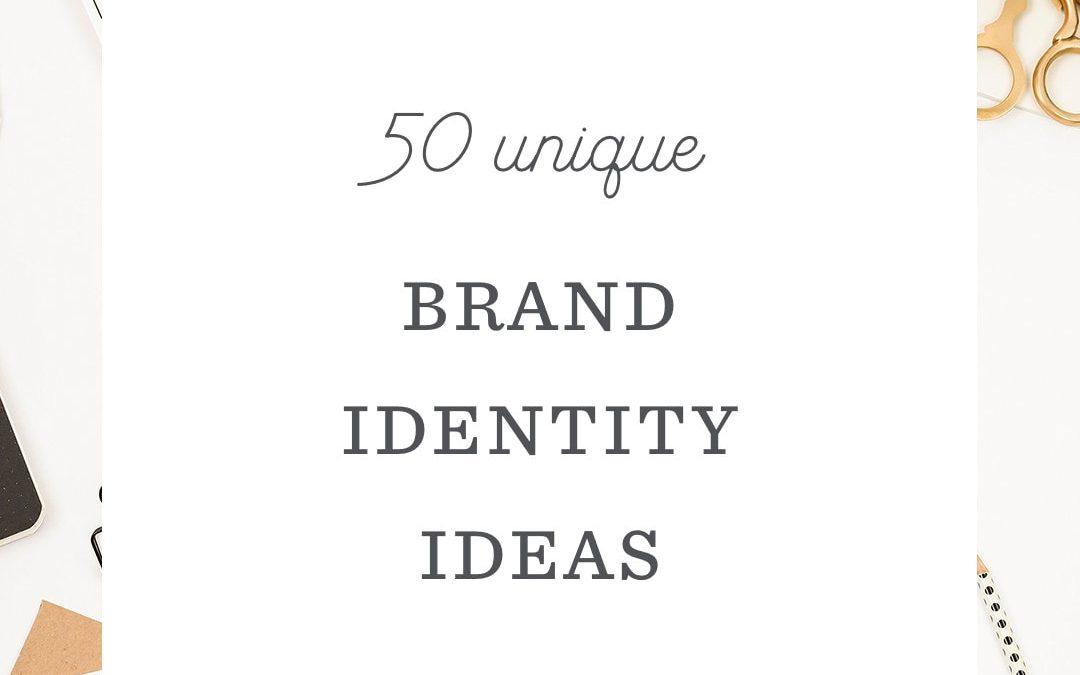 Brand Identity Ideas: 50 Inspiring Examples