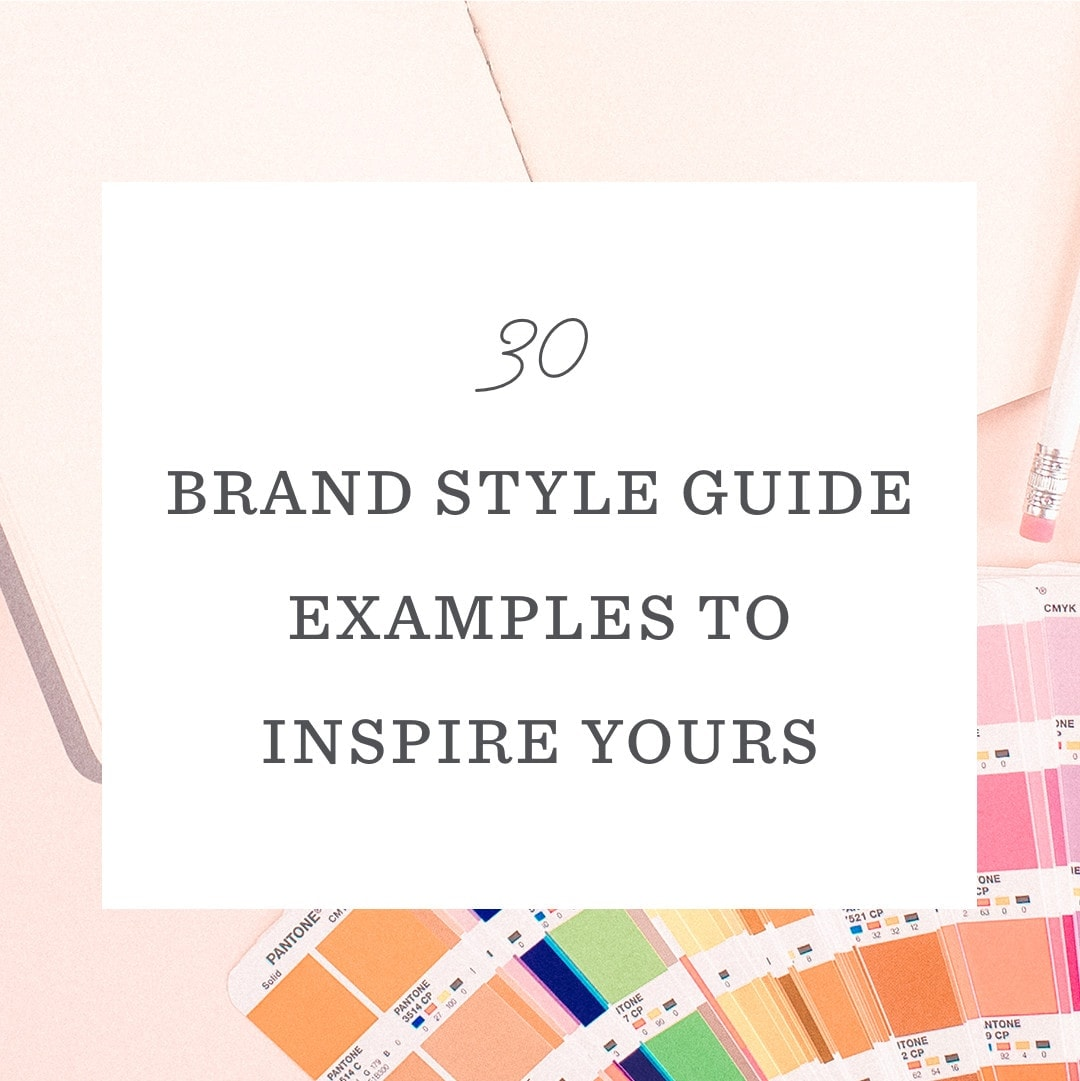 30 Brand Style Guide Examples to Inspire Yours - Laura Busche
