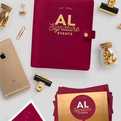 AL Signature Events: Brand Identity Design