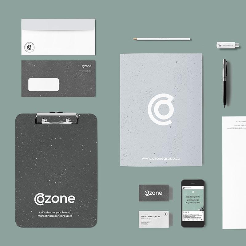 Ozone: Brand Identity Design