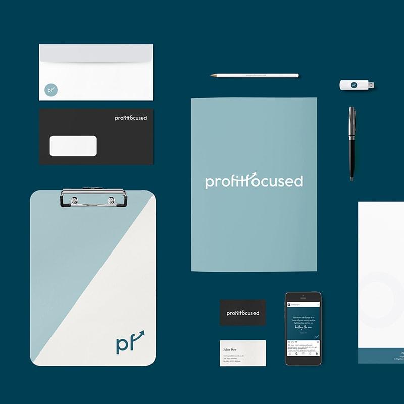 Profit Focused: Brand Identity Design