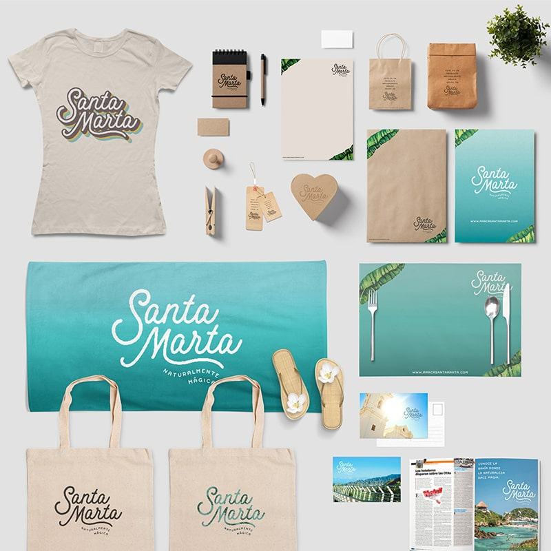 Santa Marta: City Brand Design