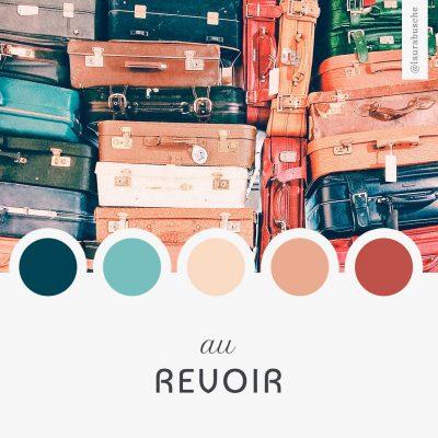 Brand Moodboard: Au Revoir