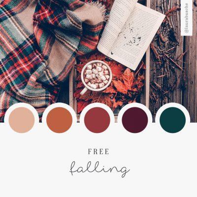 Brand Moodboard: Free Falling