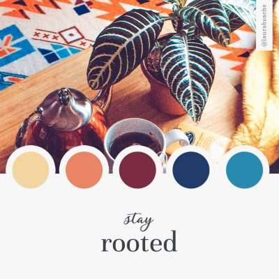 Brand Moodboard: Stay Rooted