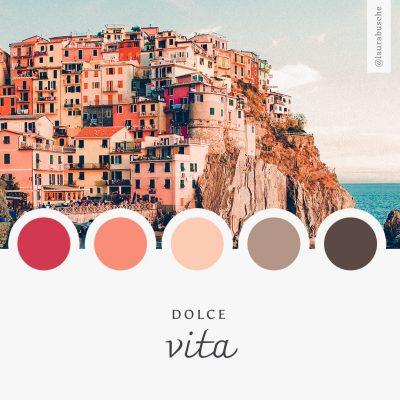 Brand Moodboard: Dolce Vita