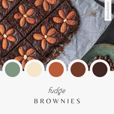 Brand Moodboard: Fudge Brownies