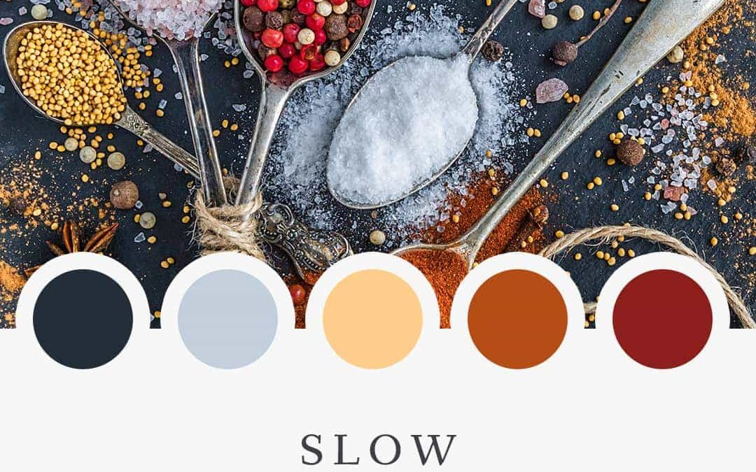 Brand Moodboard: Slow Food
