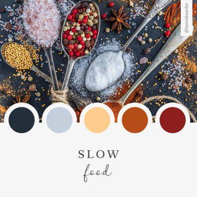 Brand Moodboard: Slow Food