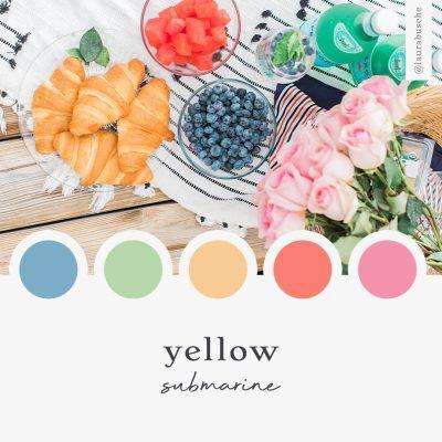 Brand Moodboard: Yellow Submarine