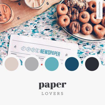 Brand Moodboard: Paper Lovers