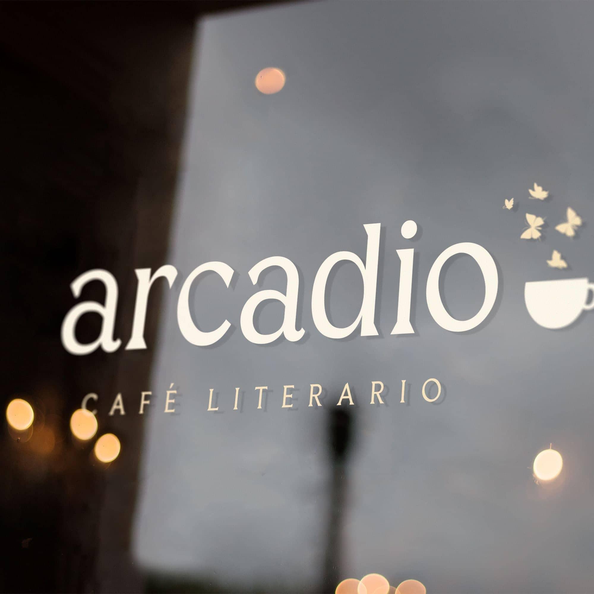 Arcadio: Cafe Brand Identity Design