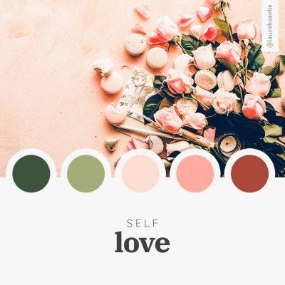 Brand Moodboard: Self-love