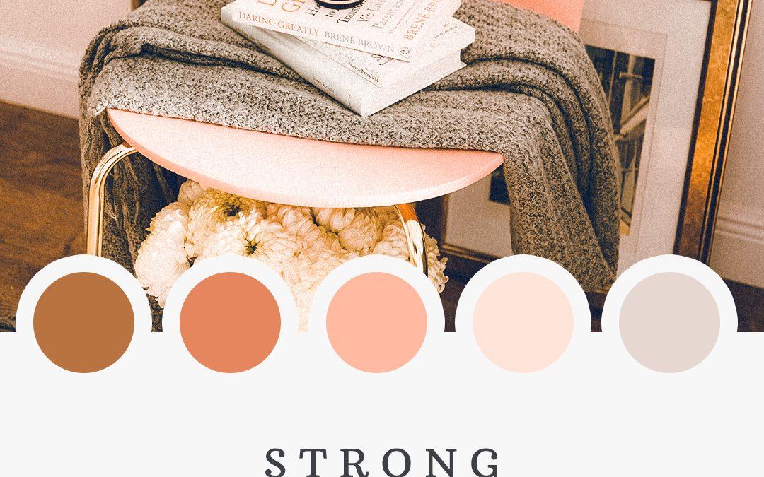 Brand Moodboard: Strong Women