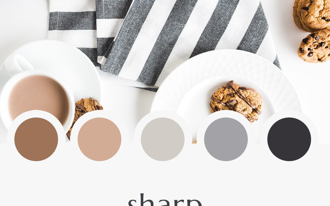 Brand Moodboard: Sharp Neutrals