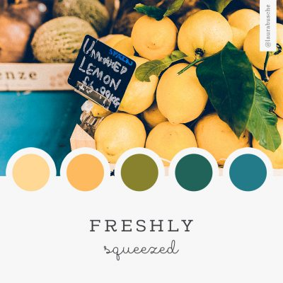 Brand Moodboard: Freshly Squeezed