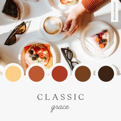 Brand Moodboard: Classic Grace