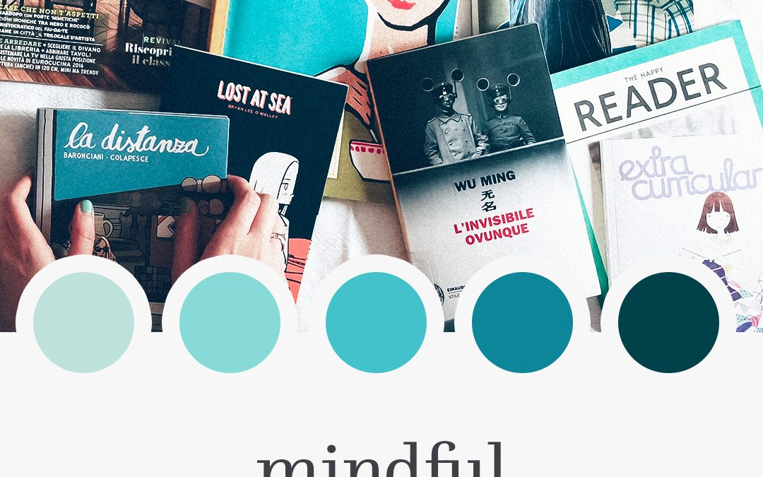 Brand Moodboard: Mindful Pages