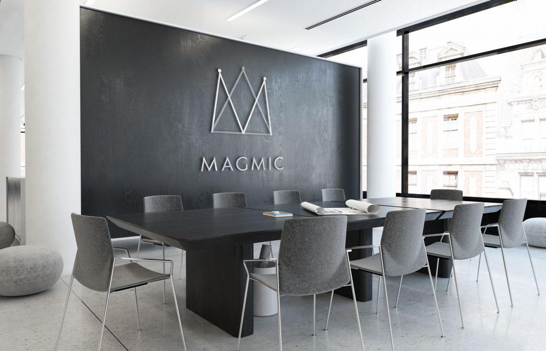 Magmic: Game Development Studio Brand Design