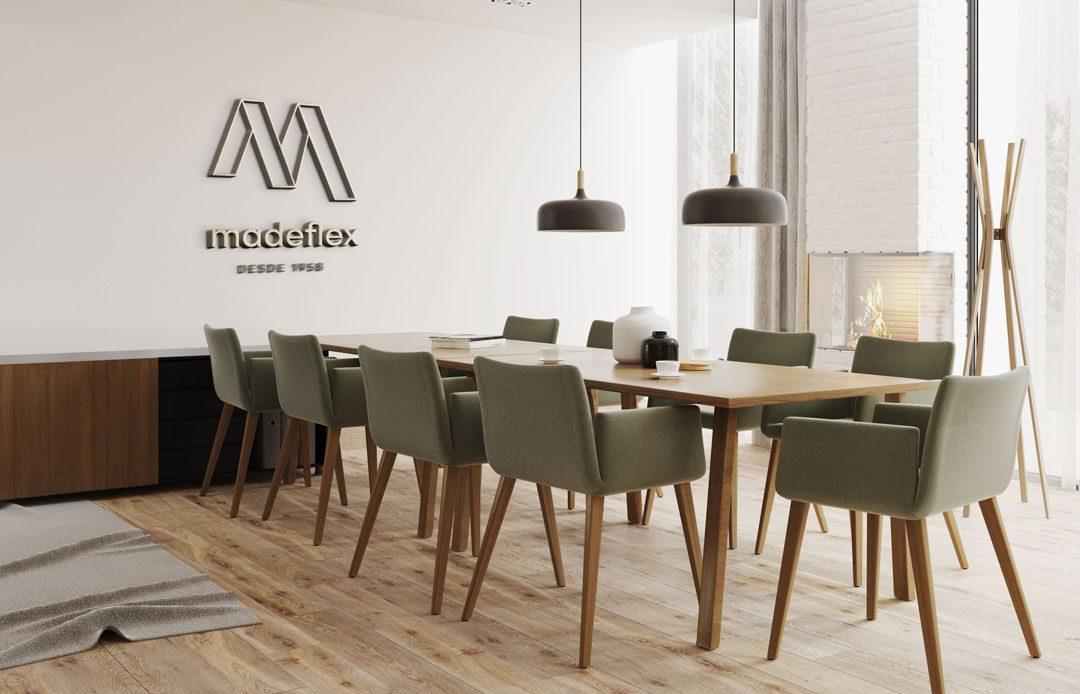 Madeflex: Woodworking Company Brand Identity Design
