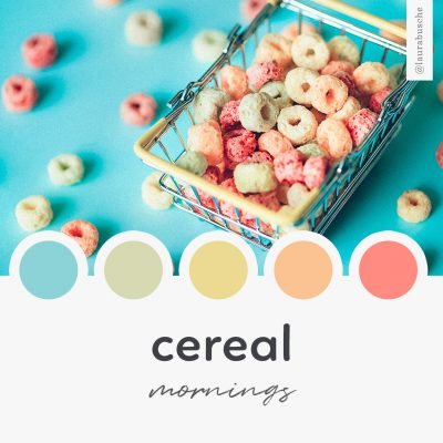 Brand Moodboard: Cereal Mornings