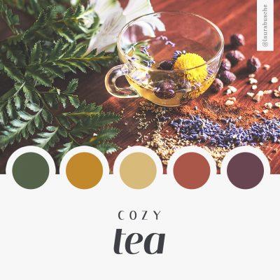 Brand Moodboard: Cozy Tea