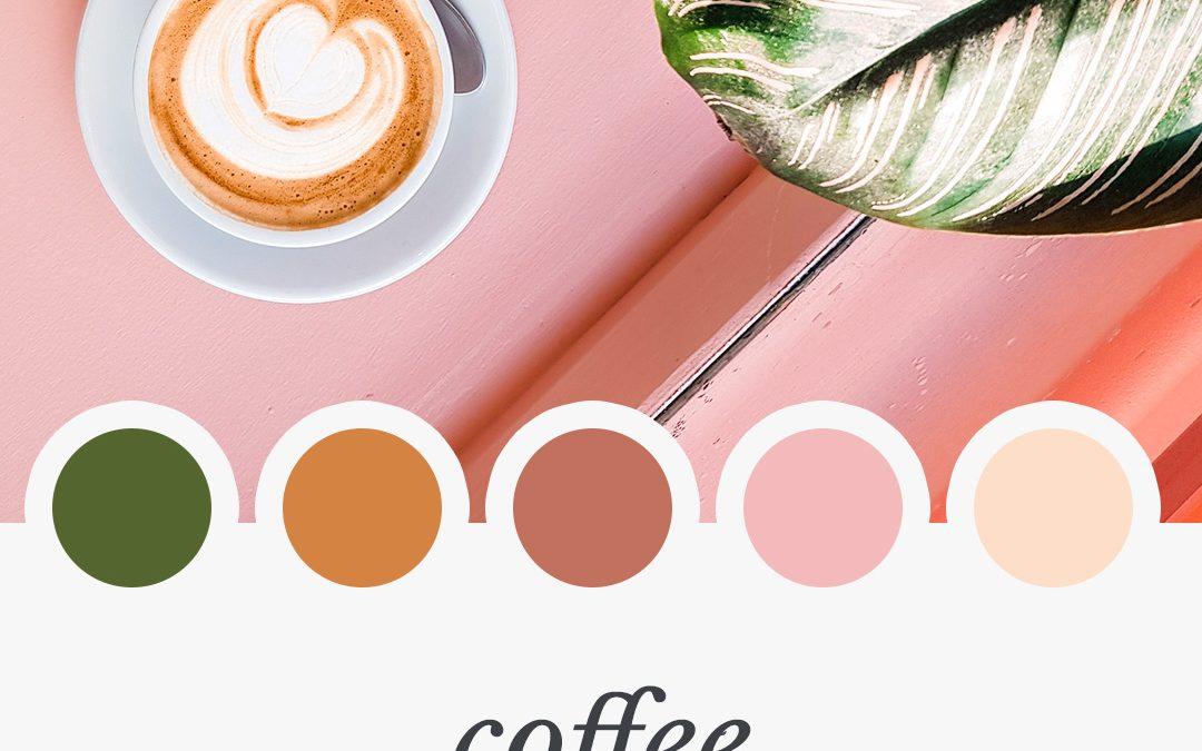 Brand Moodboard: Coffee Break