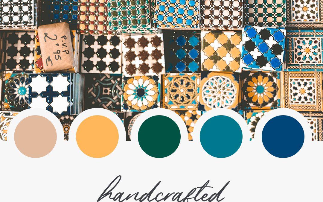 Brand Moodboard: Handcrafted Beauty