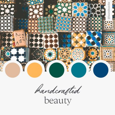 Brand Moodboard: Handcrafted Beauty
