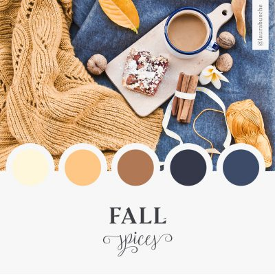 Brand Moodboard: Fall Spices