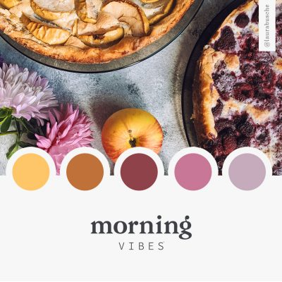 Brand Moodboard: Morning Vibes