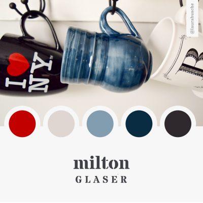 Brand Moodboard: Milton Glaser