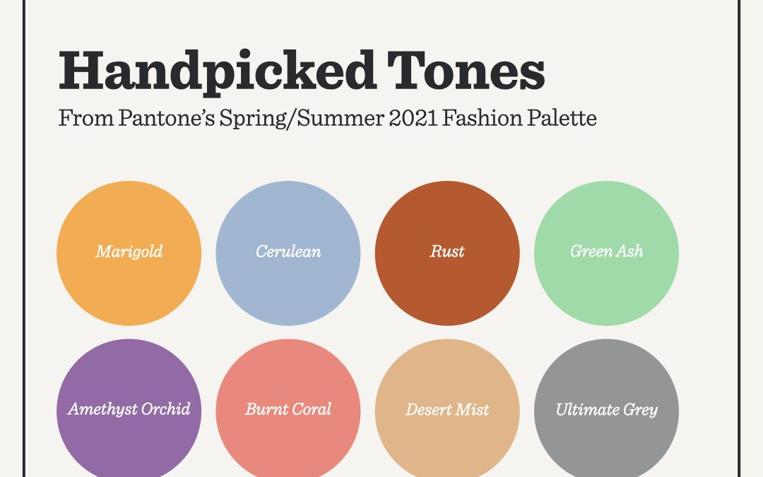 Handpicked Tones: Pantone's 2021 Fashion Palette