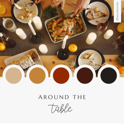 Brand Moodboard: Around the Table