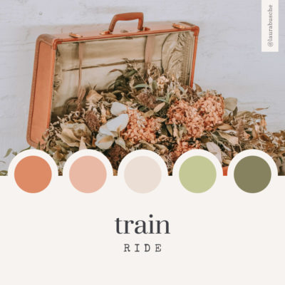 Brand Moodboard: Train Ride