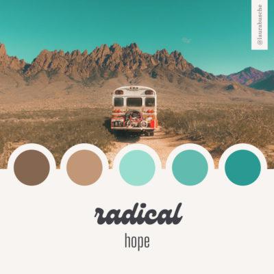 Brand Moodboard: Radical Hope
