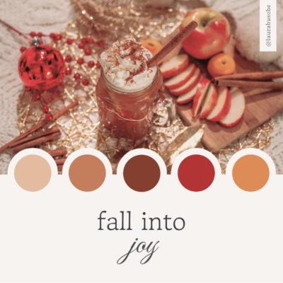Brand Moodboard: Fall Into Joy